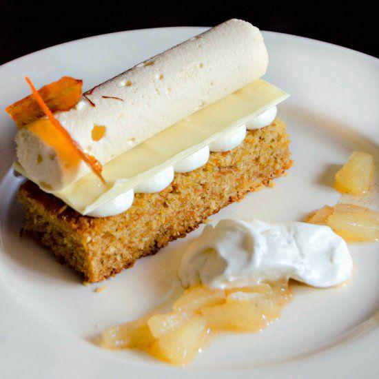 Plated Dessert Bundt Cake