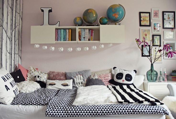 teenager mädchen zimmer - teen room makeover #girlrooms