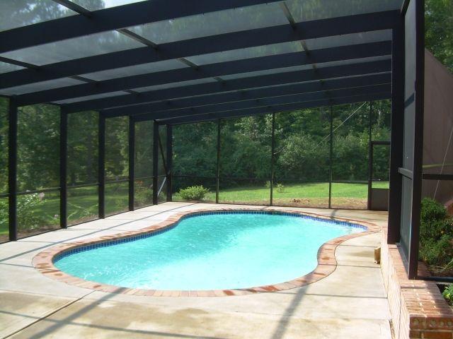 Featured Pool Enclosure Atlanta Pool Enclosures Backyard Pool