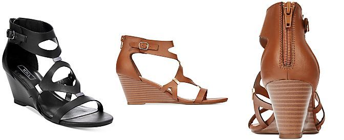 8b5244974c05 XOXO Sierra Gladiator Wedge Sandals
