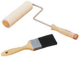 Paint Brushes or Paint Rollers which to use? | Home