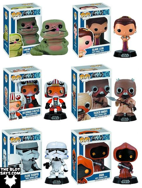 Star Wars Pop! Series 3 Vinyl Figures by Funko Want