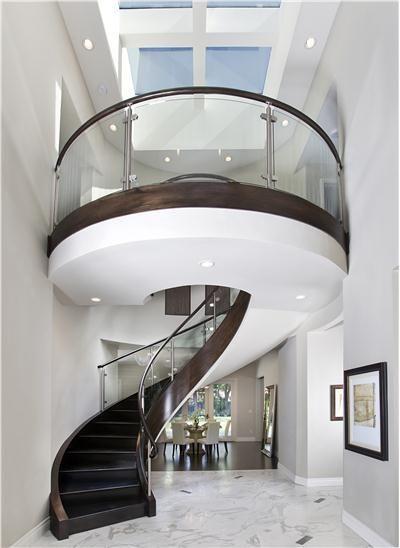 Best Modern Circular Stairway Escaleras Modernas Escaleras 400 x 300