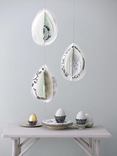 Paperiset pääsiäismunat