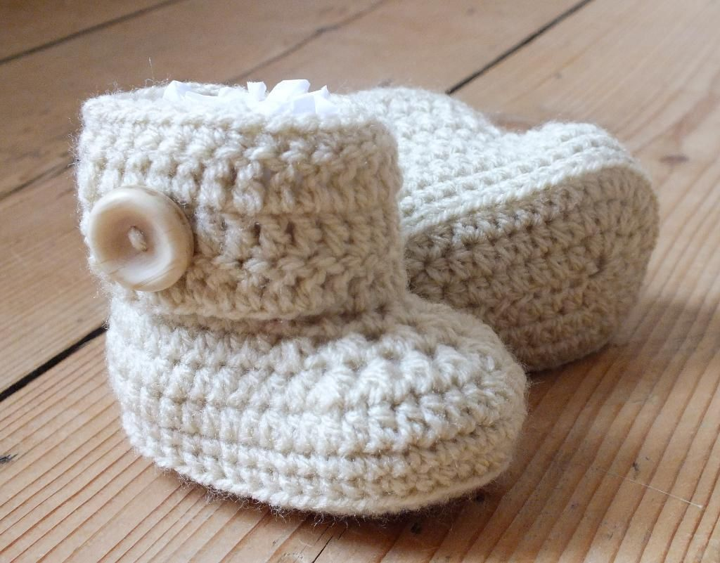 baby boot crochet pattern | Posted January 24, 2013 | Crochet for ...