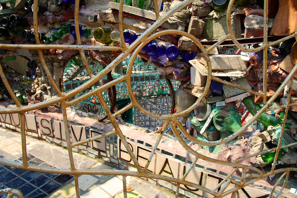 PHILADELPHIA'S MAGIC GARDENS Created by Isaiah Zagar