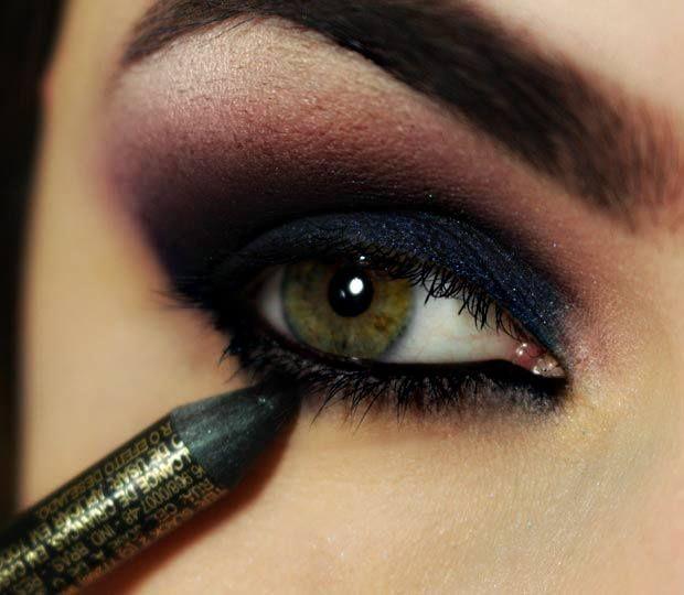 Maquillaje de ojos ahumados Maquillajes Pinterest Maquillaje