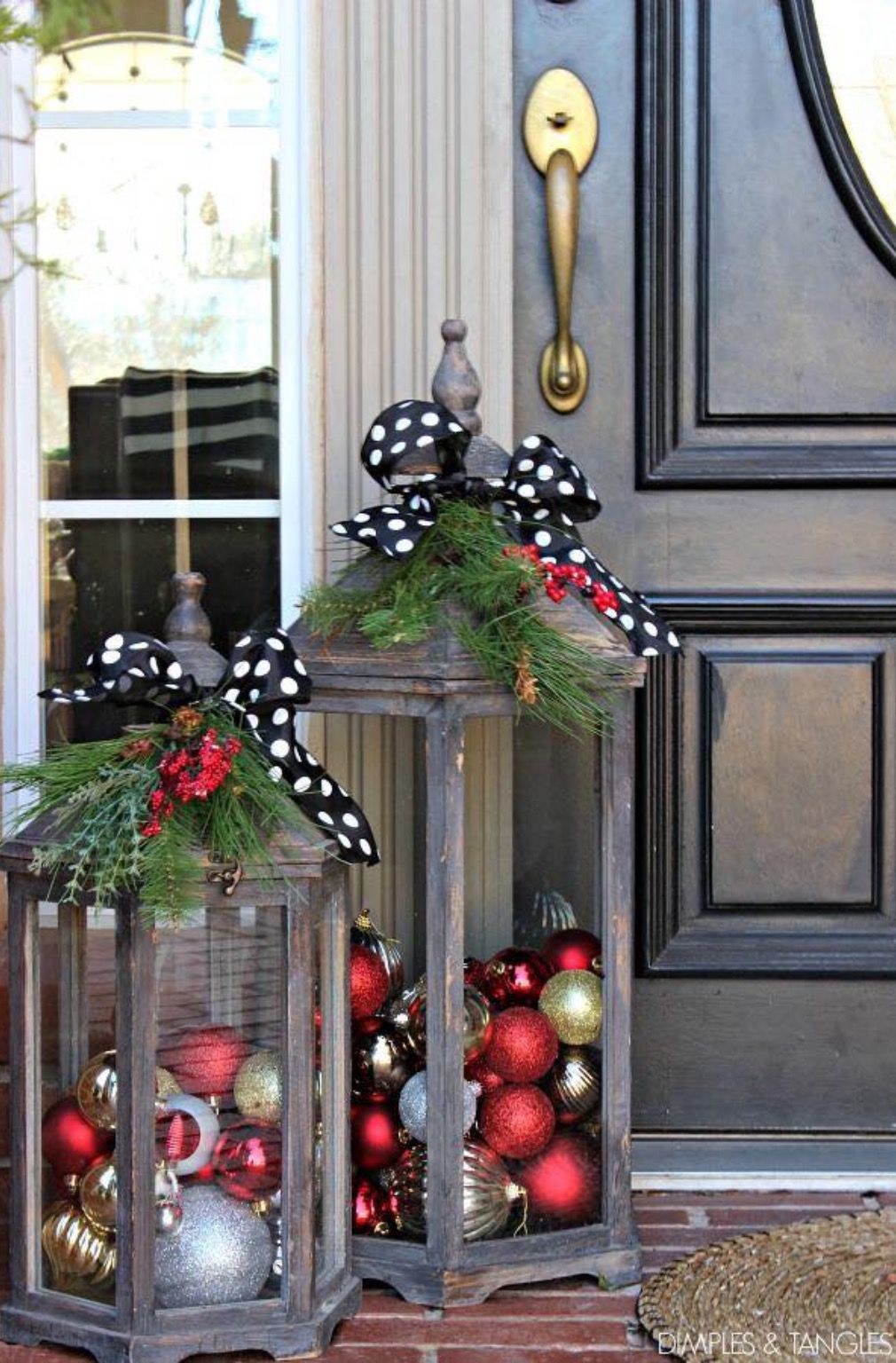 Lanterne De Noel Exterieur Pin By Lauren Benet On Tis The Season Pinterest Deco Noel