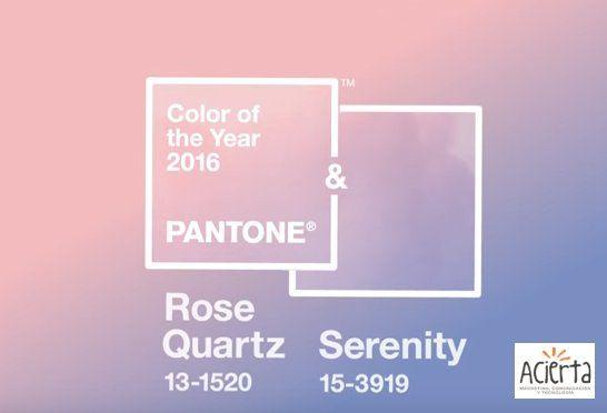 Recordemos por un instante el color Pantone de este año 2016 https://youtu.be/AAJ1vPe4w2c