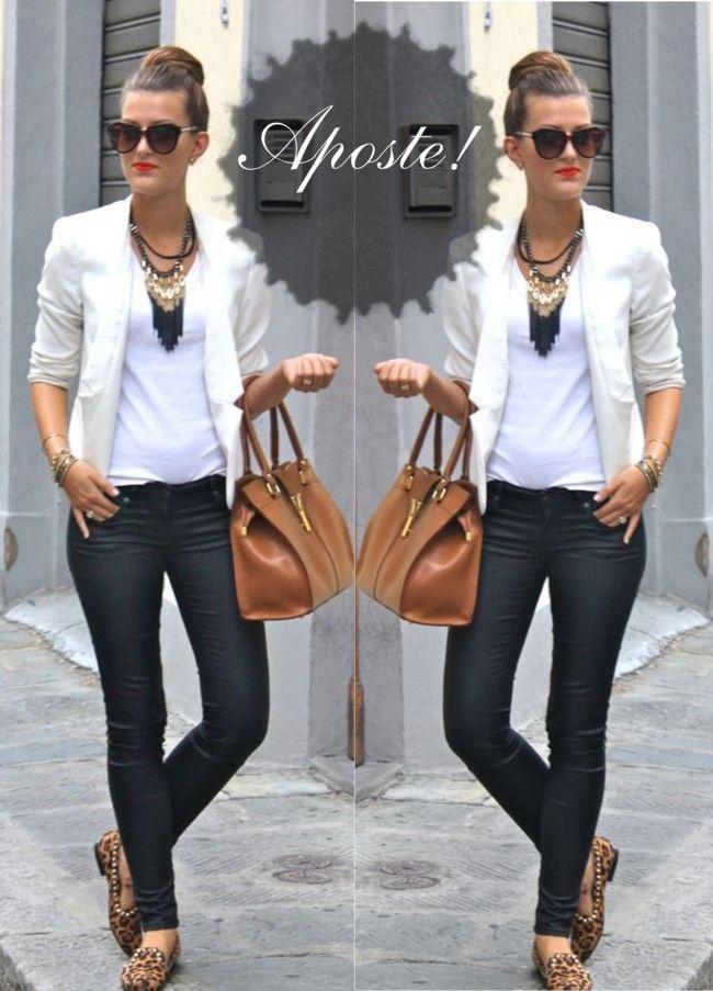 b182e5aac4 Como usar blazer branco