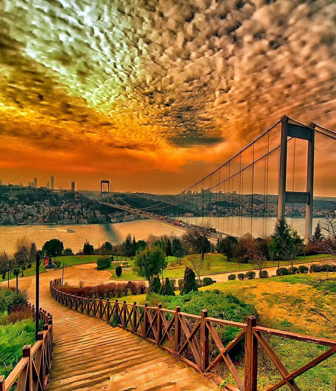 Istanbul Turkey Sserkan34 Beautiful Nature Cool Landscapes Landscape Photography