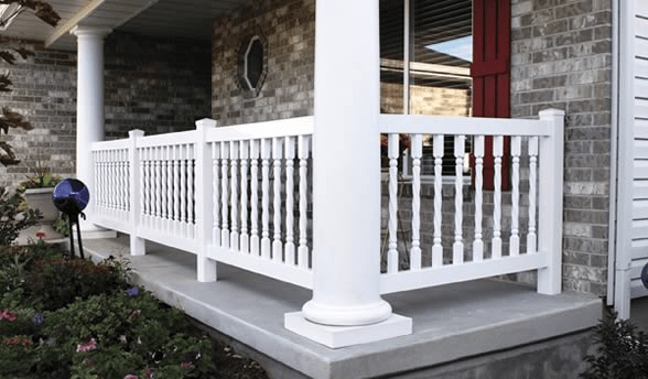 Vinyl Porch Railing Designs Vinyl Railing Porch Railing Porch Railing Designs