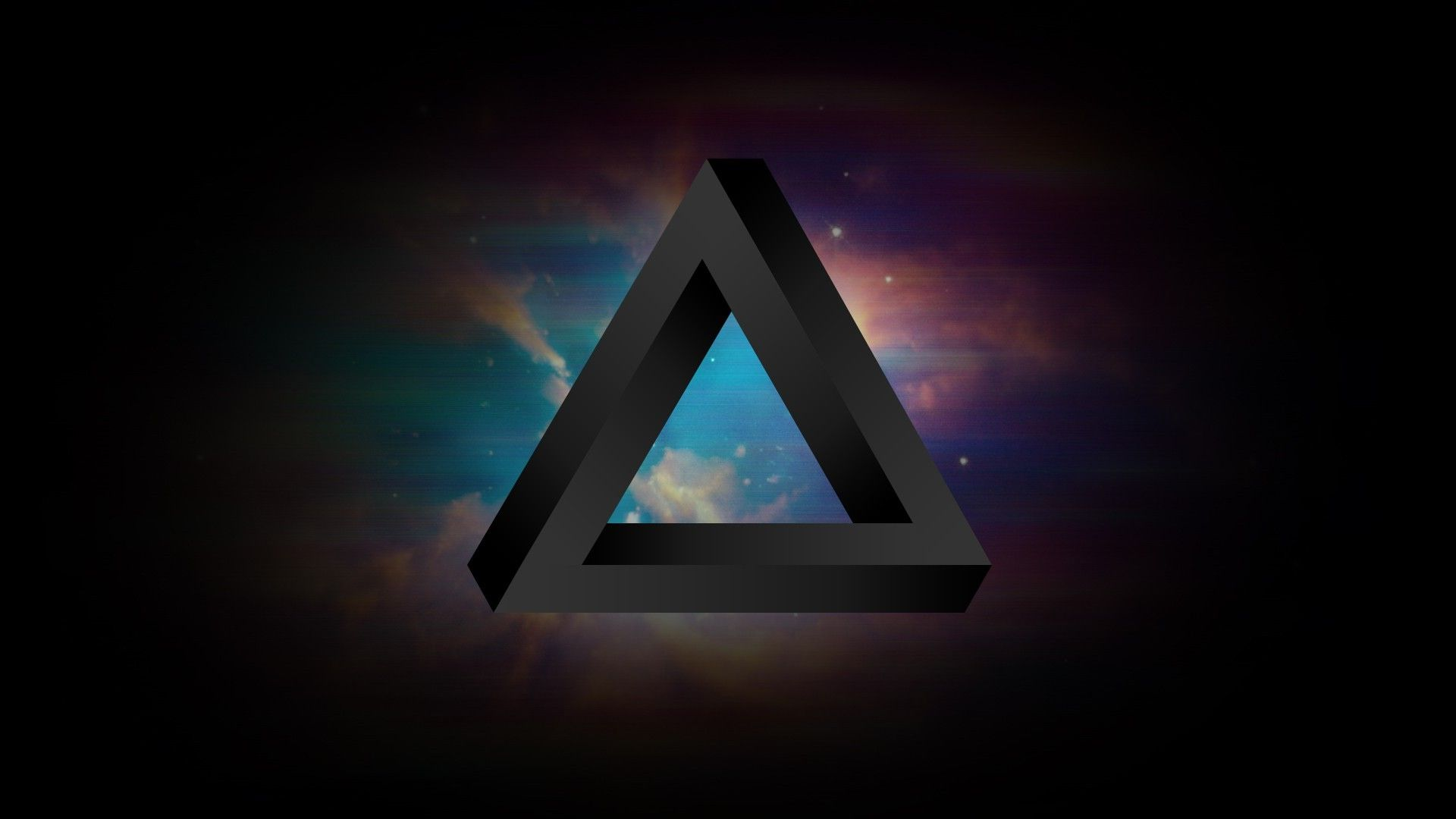 Triangle Space Tylercreatesworlds Penrose Triangle Wallpapers Geometric Abstract Wallpaper Background Hd Wallpaper Android Wallpaper Abstract