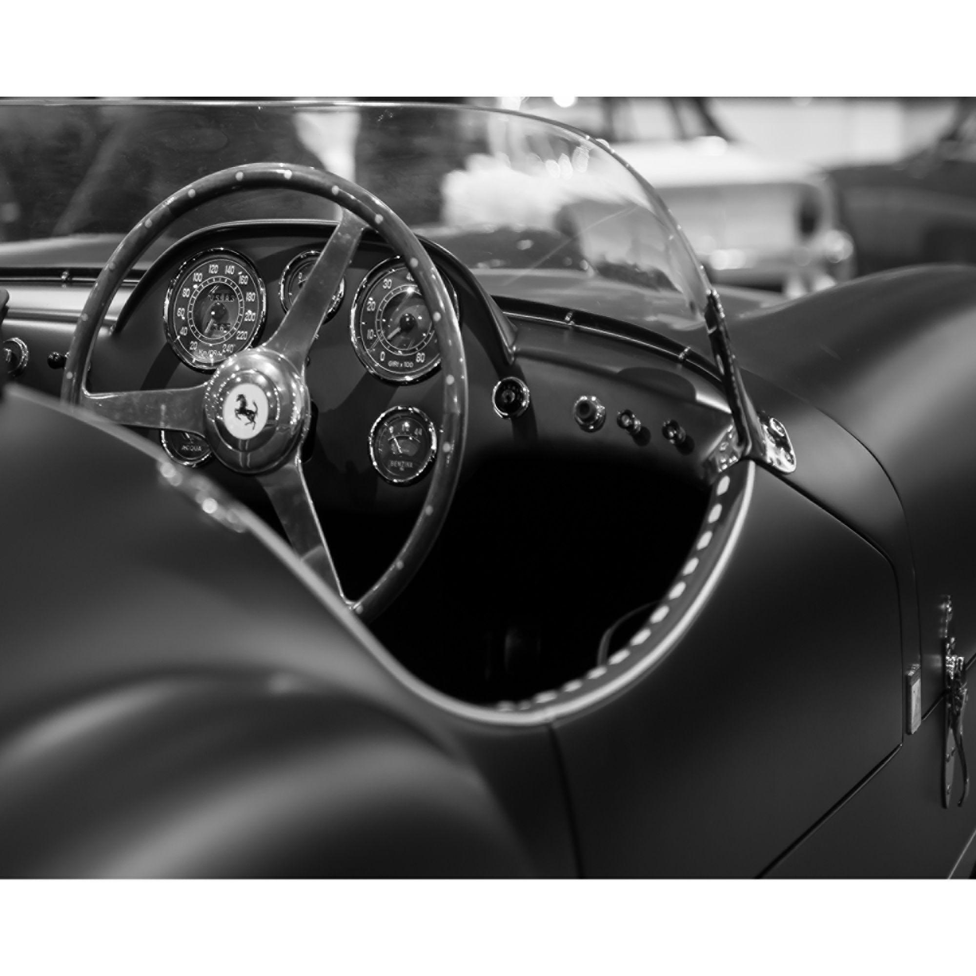 affiche noir et blanc 40x50cm noir blanc voiture 2 les. Black Bedroom Furniture Sets. Home Design Ideas