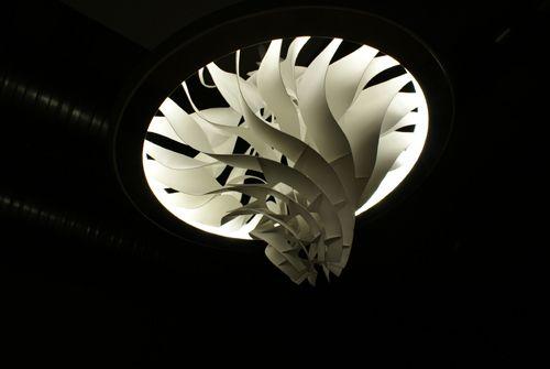 Turbine Lamp on Industrial Design Served
