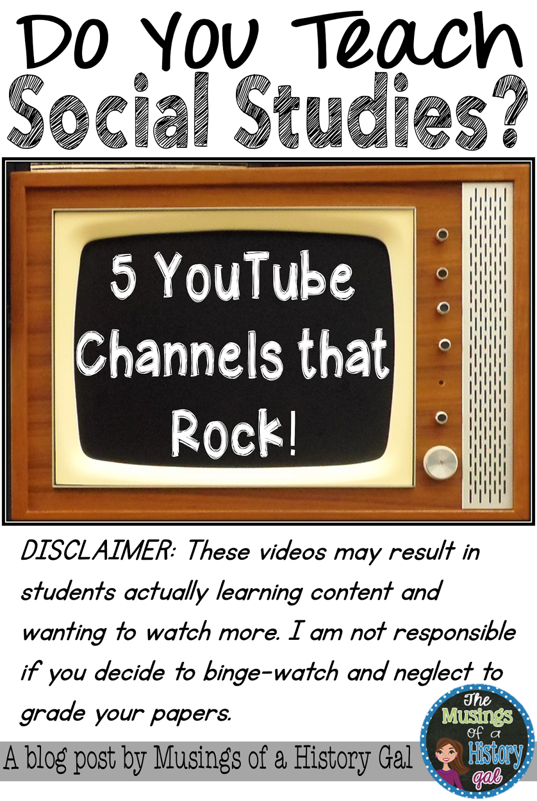 5 YouTube Channels That Rock Social studies Rock and History