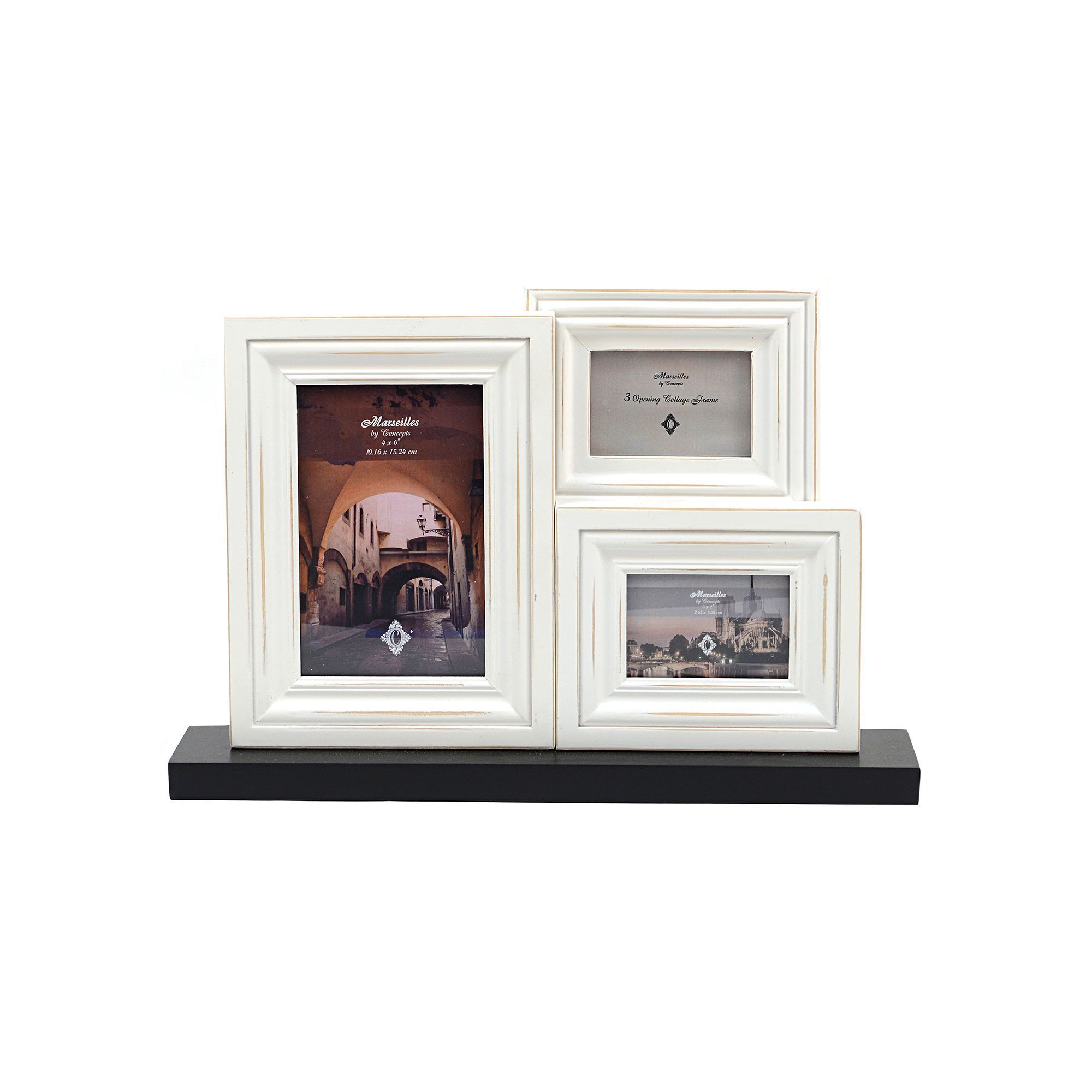 Concepts in Time 3-Opening Collage Frame, White | Products ...