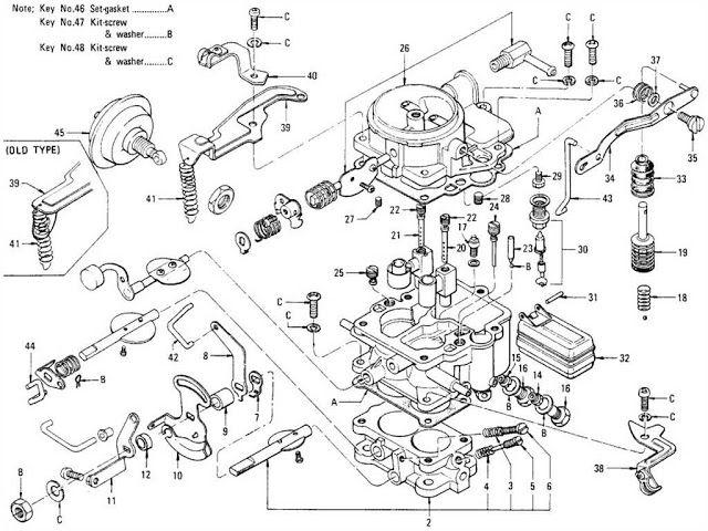 Diagrama De Carburador Nissan Sunny Nissan Nissan Sentra Carburetor