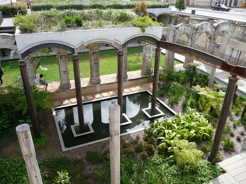 Paddington Reservoir Gardens Of Babylon Brick Arch Public Garden