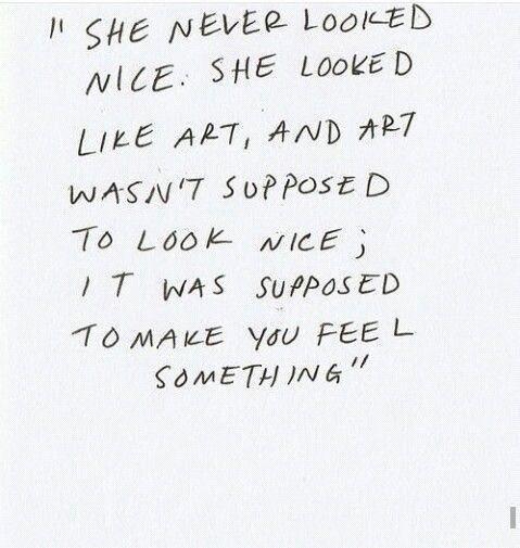 Art feeling