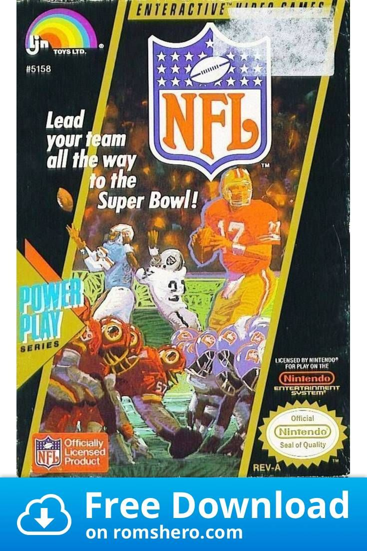 Download NFL 99 (Tecmo Super Bowl Hack) Nintendo (NES