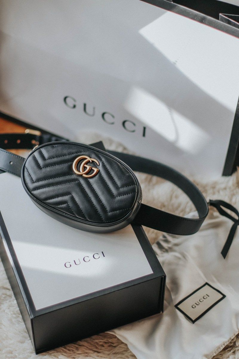 d4b62188b60c35 Gucci Belt Bag marmont black #gucci #beltbag #newin #shopping #marmont  #fannypack #unboxing #blogger