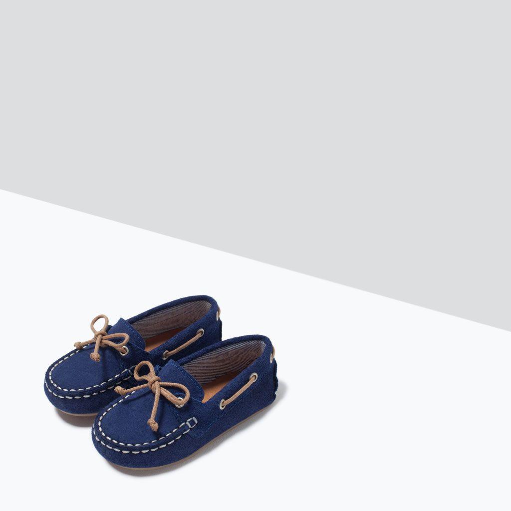 ZARA - ENFANTS - MOCASSINS EN CUIR   Zapatos para niñas ...