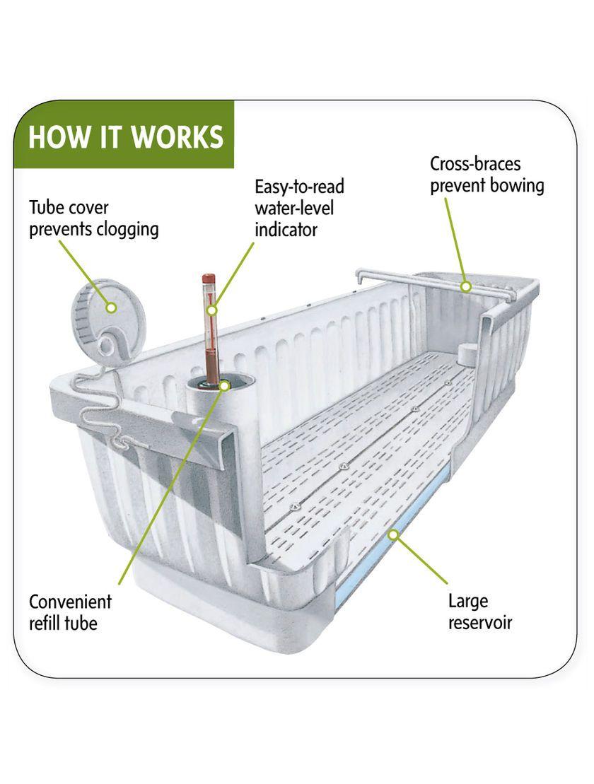 Gardeners Supply Self Watering Window Box