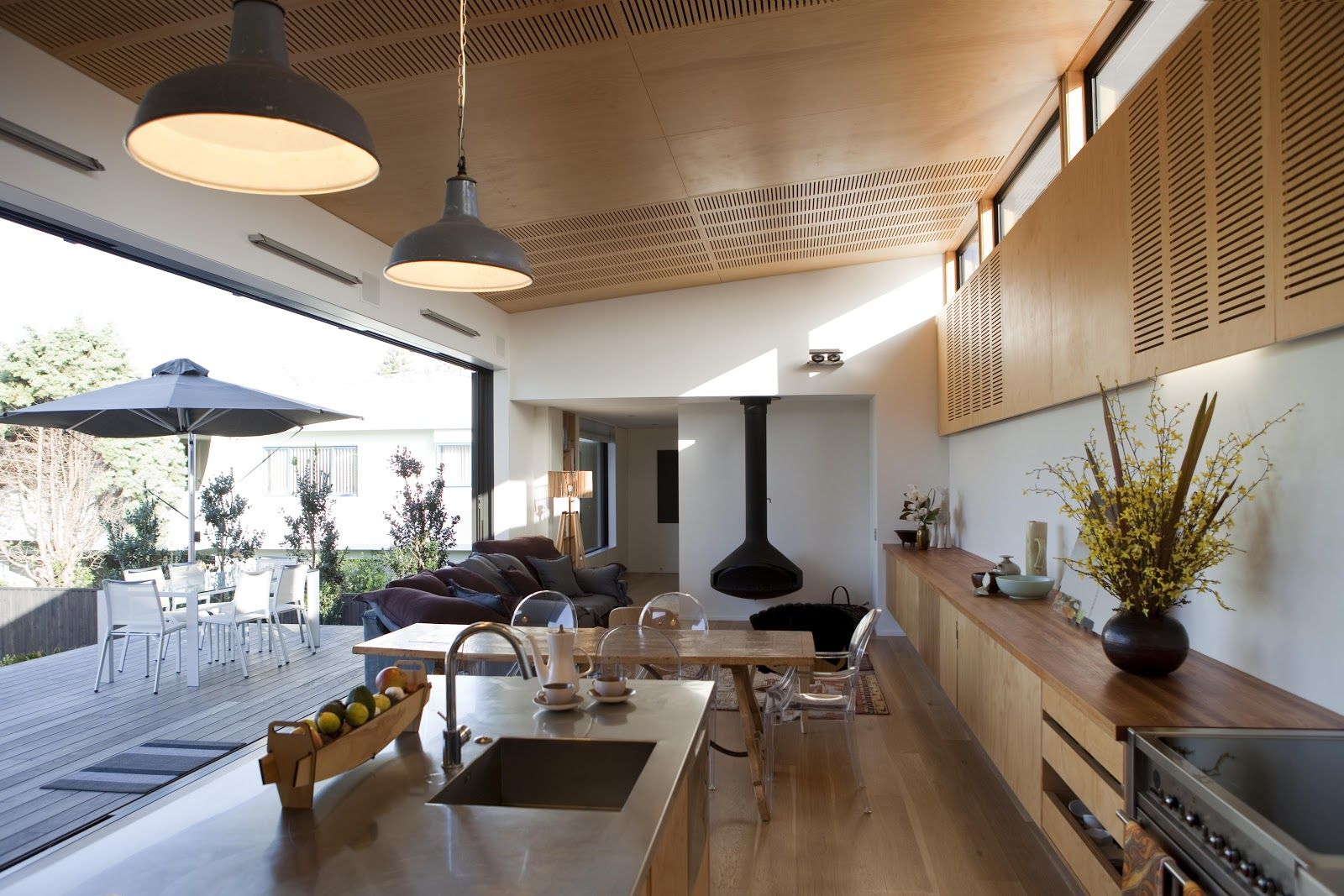 Architect evan mayo nz kitchen kitchen dining
