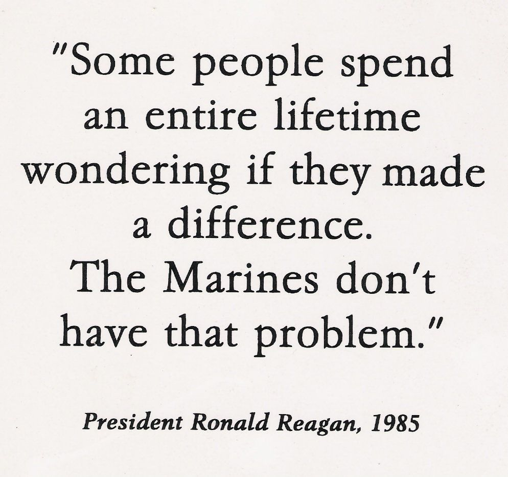 Eleanor Roosevelt Quote About Marines Marines Have A Well Deserved Reputation For Toughness But Any