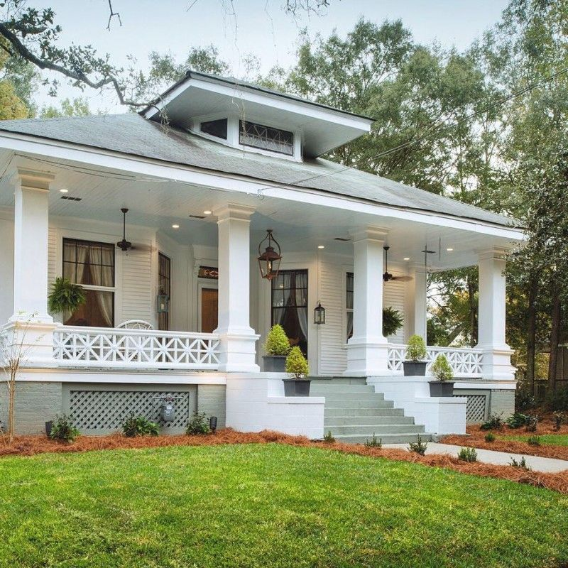 bungalow house plans with porches. Phantom Screens Southern Romance Idea House  Mobile Alabama Home Decoratings Makeover Reveal and Foxes