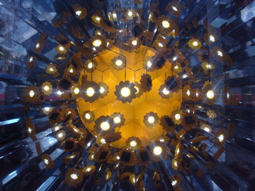 Olafur Eliasson's Little Sun Window Display At La