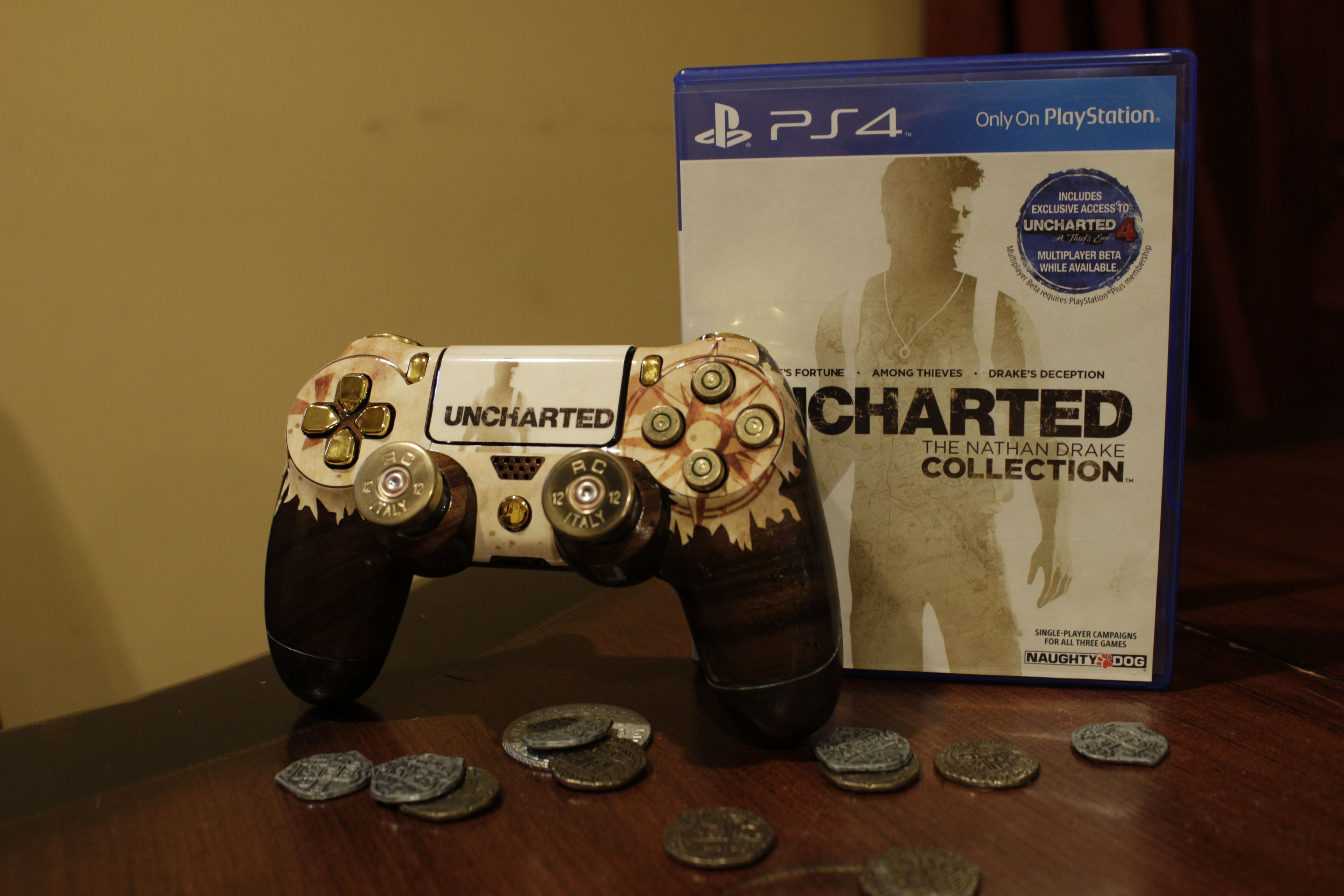 Ready For Uncharted 4 Uncharted Ps4 Controller Nathan Drake