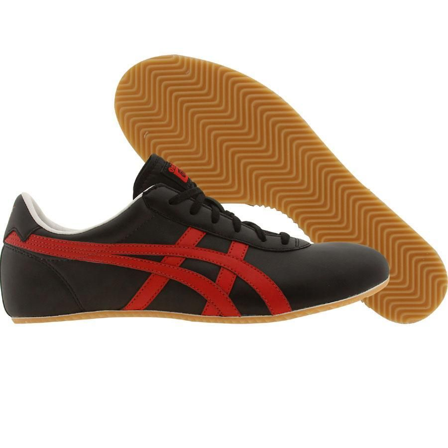 wholesale dealer d6cbe 09a1a Asics Onitsuka Tiger Tai-Chi shoes in black and red ...