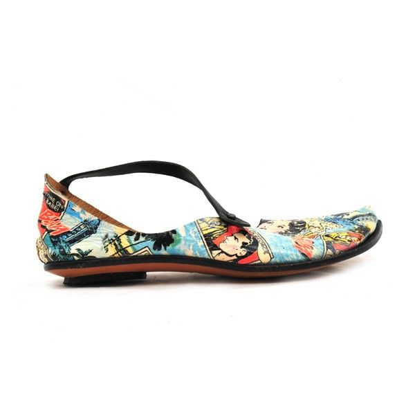 Fab cartoon shoes, would look great with any plain outfit.