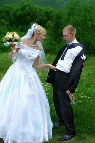 POPHANGOVER » Blog Archive » 10 Best Worst Russian Wedding Pics ...