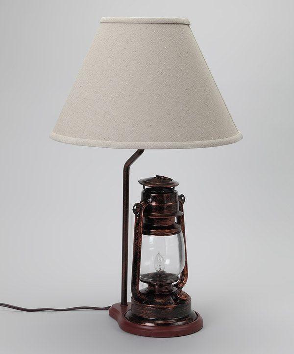 Black Camp Lantern Lamp By Dennis East International Zulily Zulilyfinds Lamp Lantern Lamp Camping Lanterns