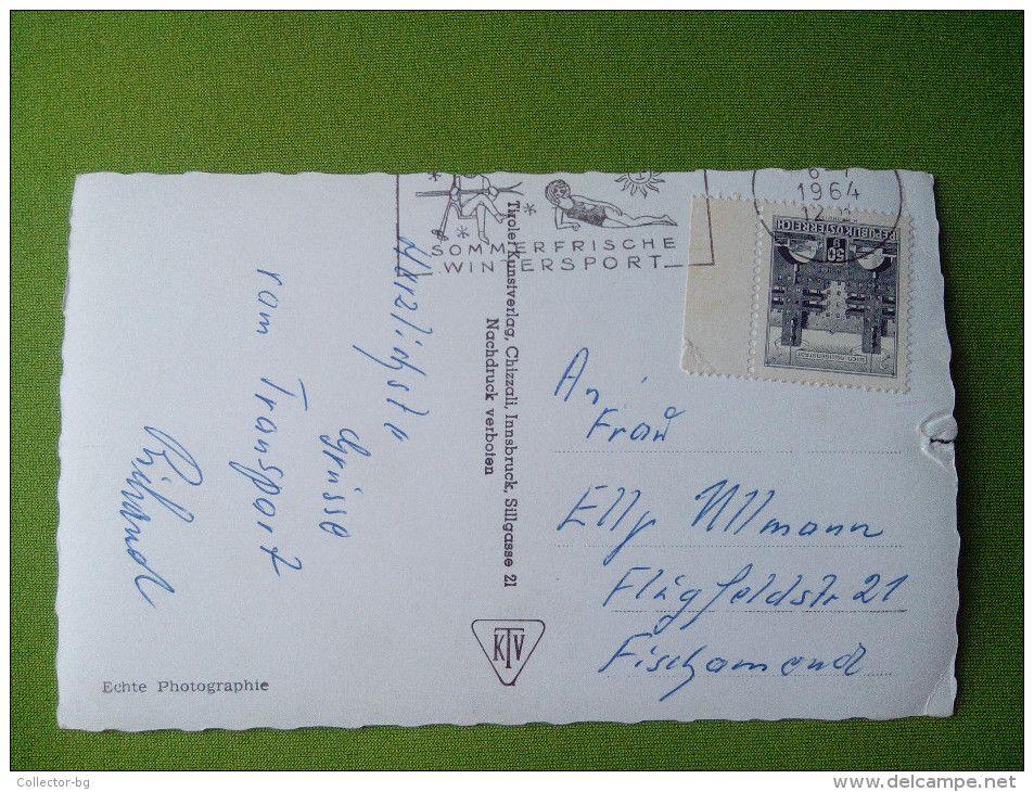 AUSTRIA 1964 2124 BRIXLEGG I.T. MIT SHROIMMBAD STAMP 50GR. OSTERREICH SPECIAL SEAL SOMMER/WINTER SPORT RRR - Austria