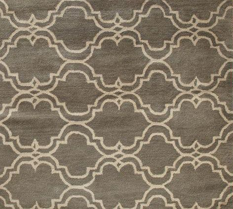 Classically Composed Inspiration Rug By Pottery Barn Tile Rug