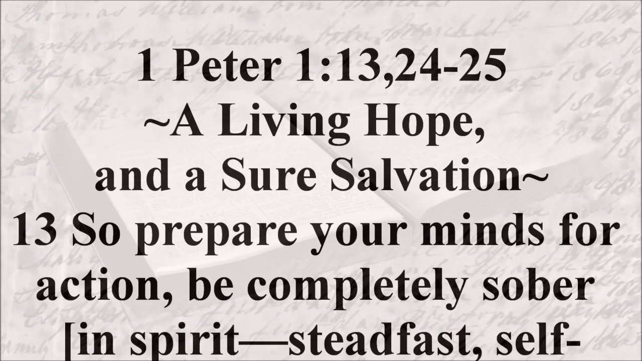Jan. 6 1 Peter 113,2425 1 peter, Verse of the day