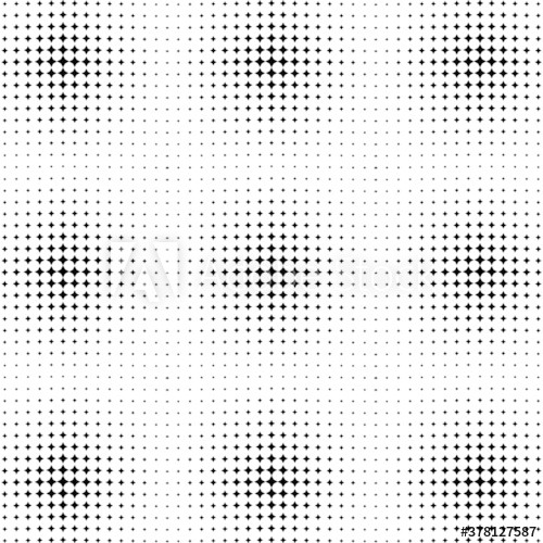 Seamless Halftone Pattern With Circles Halftone Dotted Backdrop Radiating From The Center Starburst Comic Background Halftone Pattern Halftone Dots Halftone