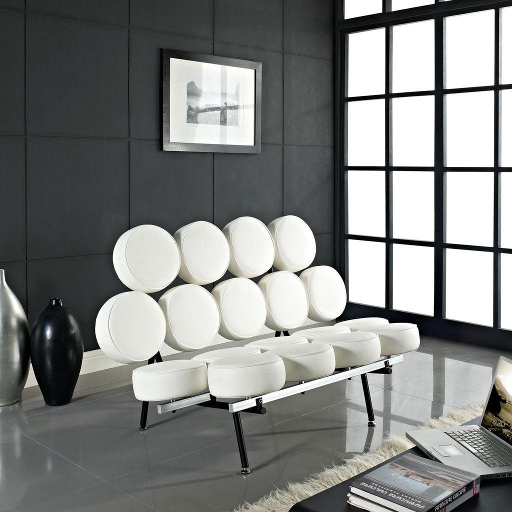 Awesome Herman Miller Nelson Marshmallow Sofa | George Nelson Irving Harper 1956 |  52