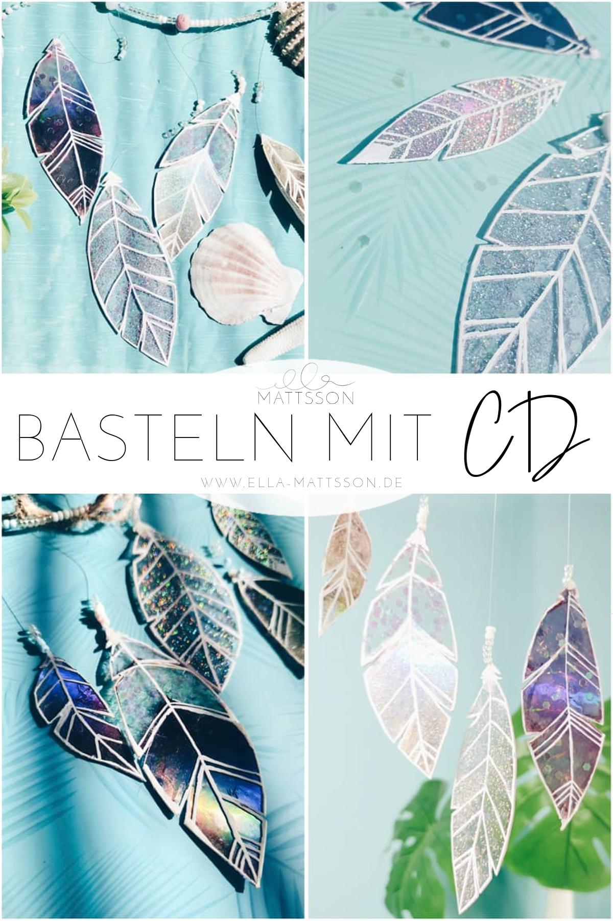 Photo of Basteln mit CD – glitzernden Traumfänger aus CD selbermachen