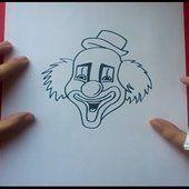 Otros Pintaycrea Over Blog Com Payasos Como Dibujar Canal De Youtube