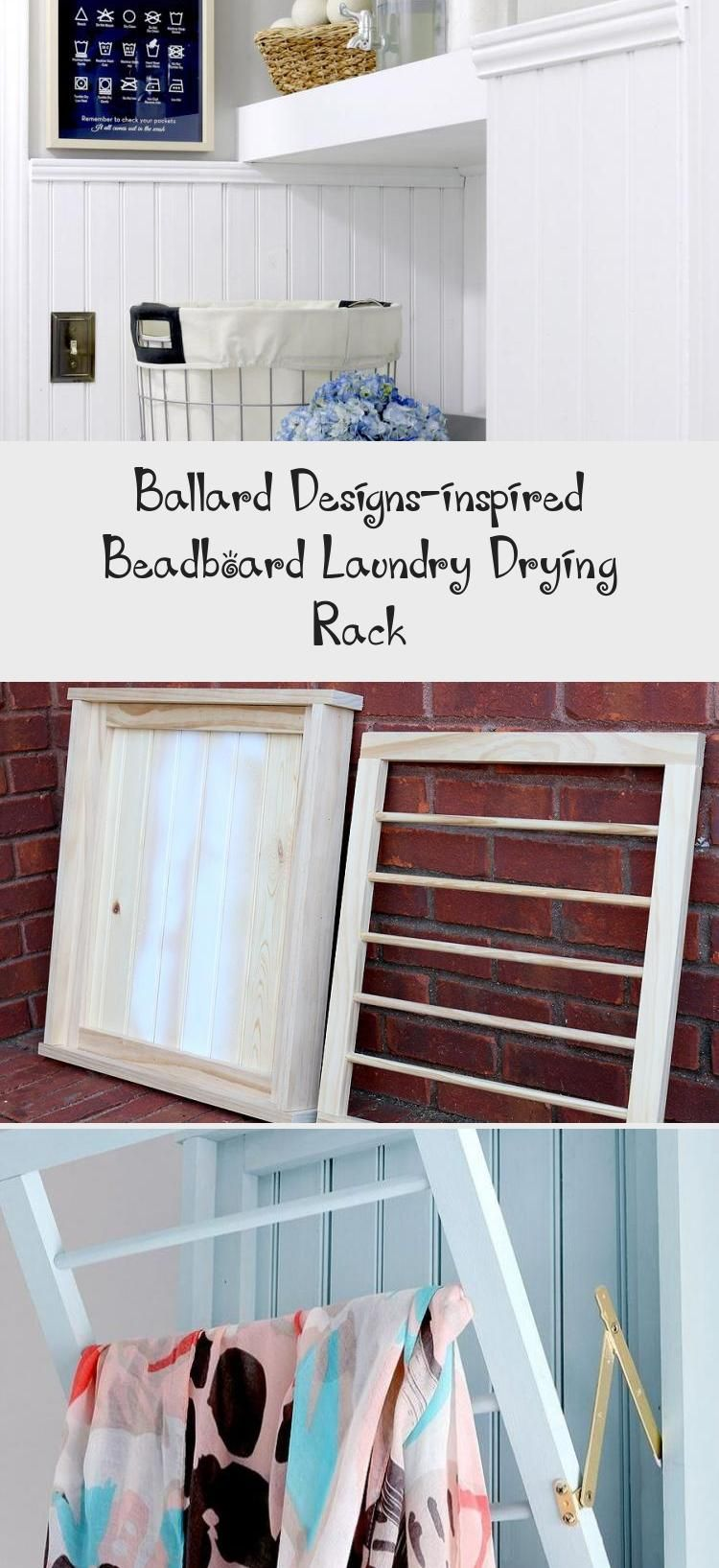 How To Build A Diy Ballard Designs Laundry Drying Rack Laundryroomentryway Laundryroomart Laun In 2020 Vintage Laundry Room Laundry Room Design Laundry Room Layouts