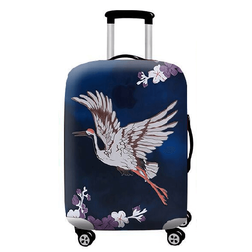 Travel Luggage Cover Hand Drawn Galaxy Universe Planet Suitcase Protector