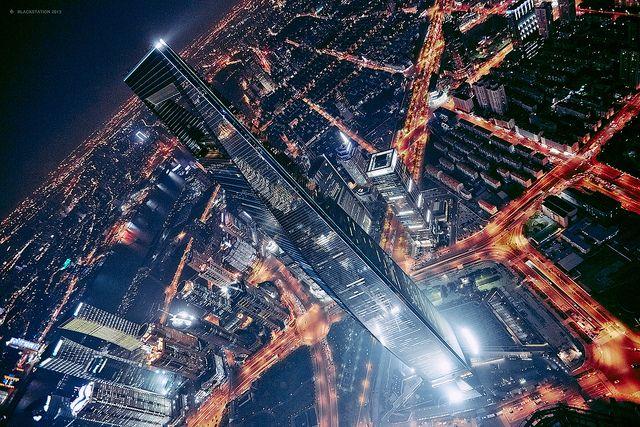 #Shanghai - World Financial Centre 血脉喷张 / splash | Flickr -  blackstation