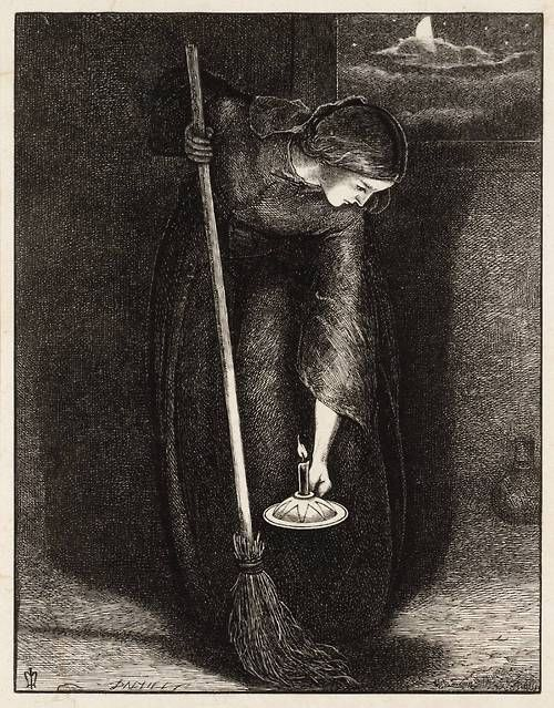 Sir John Everett Millais The Lost Piece Of Silver 1864 Pre