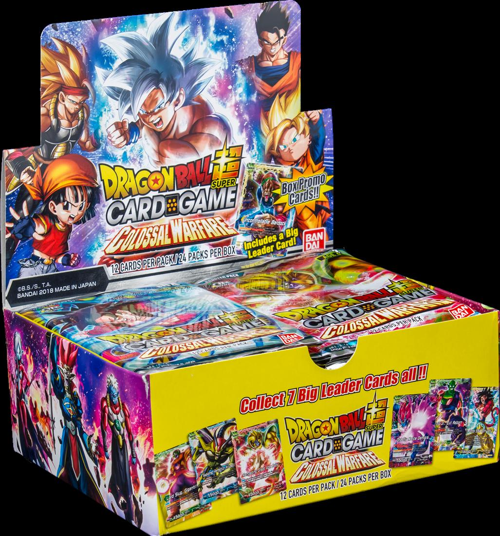 Sealed Colossal Warfare Booster Pack Dragon Ball Super Bandai