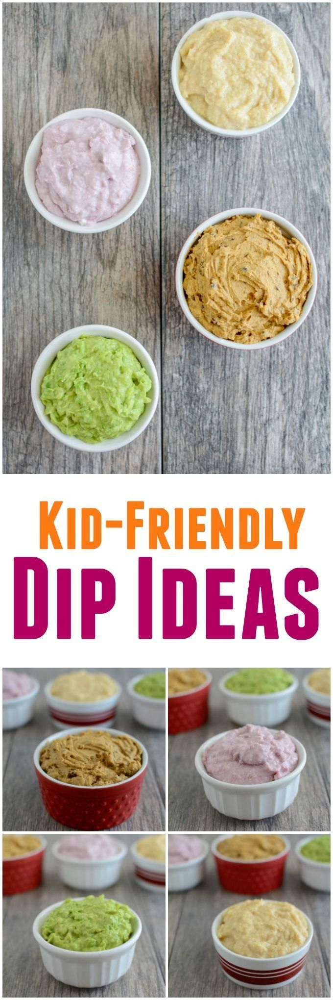 4 Kid-Friendly Dips - Life with Kami -